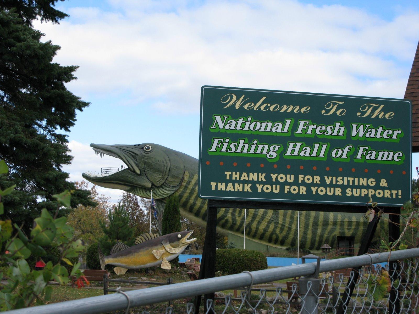 National fresh water fishing hall of fame rebecca dale for Freshwater fishing hall of fame