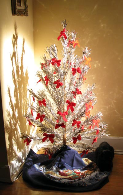 Set Up A Fake Christmas Tree